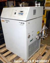 Used- Thermo Electron Neslab Recirculating Chiller, 1.2 Tons, Model NX+150A. Approximate temperature range 5 to 35 degrees C...