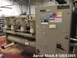 Used- McQuay 115 Ton Water Cooled Scroll Compressor Chiller