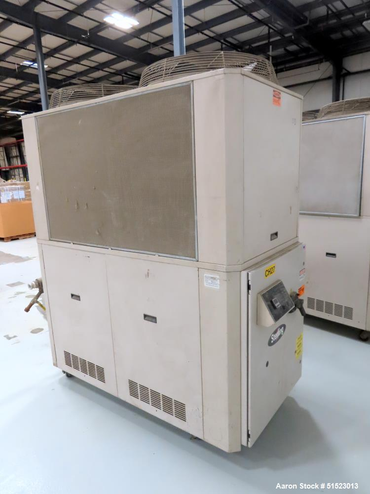 Used- Sterlco Portable Air Cooled Packaged Chiller