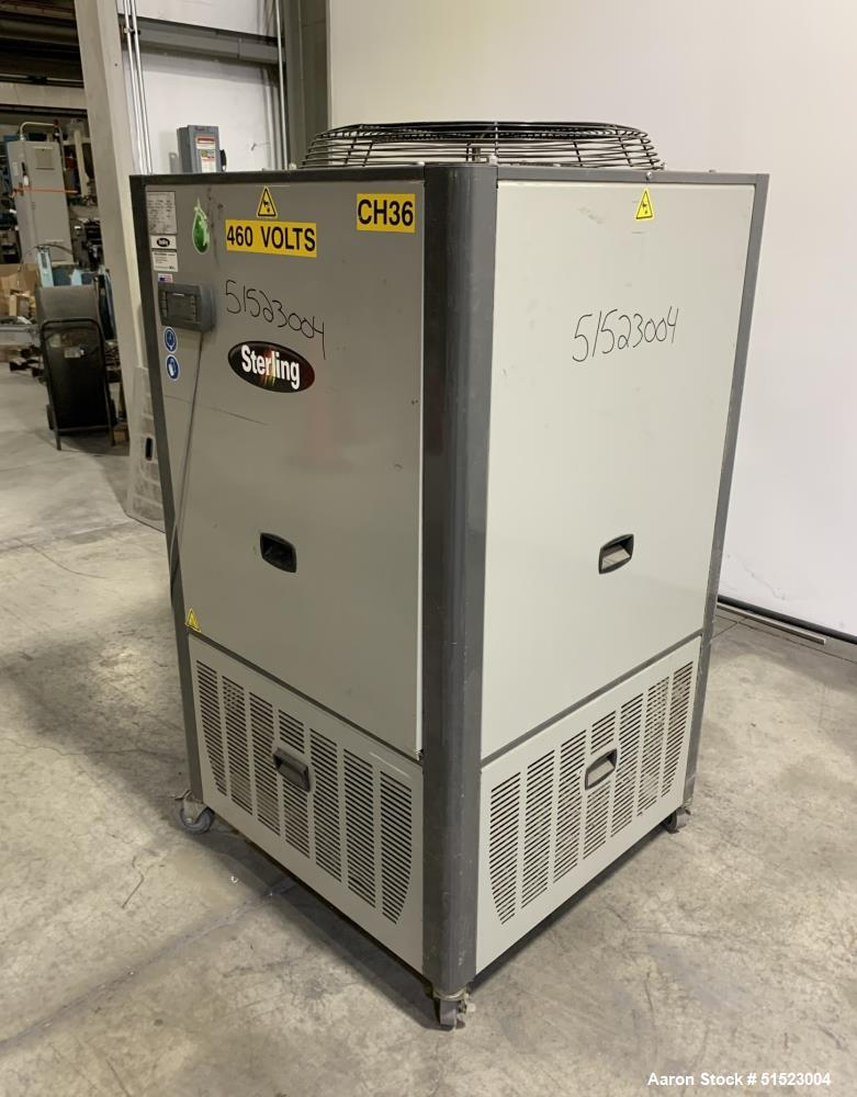Used- Sterling GP Series Portable Air Cooled Packaged Chiller