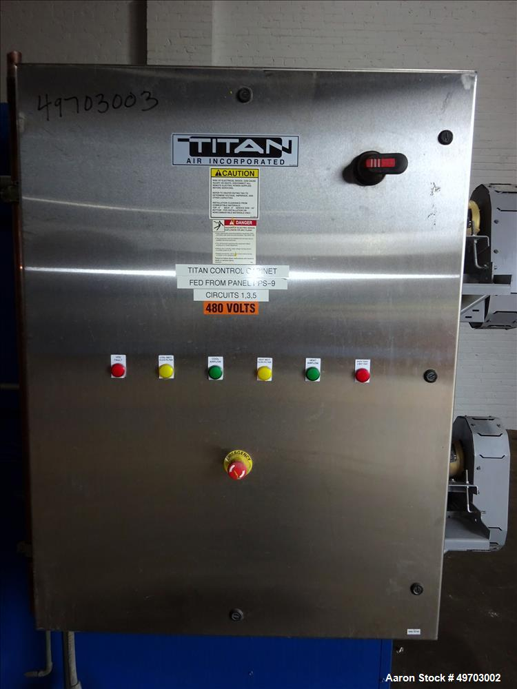 Used- Titan Air Incorporated Process Heat/Cool Unit