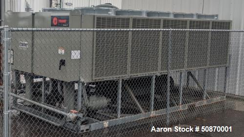 Used- Trane 100-ton Air-Cooled Chiller Package.