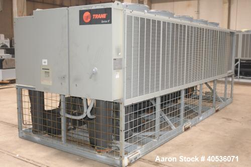 Used Trane Air Cooled Screw Chiller Model Rtaa1