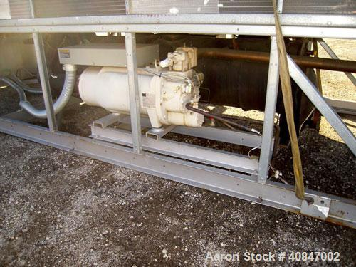 Used- Trane Air Cooled Chiller, 250 Ton, Model RTAC2504UDONUAFNN1NY1TENBAONN1ONROFXN, manufactured in 2002. Designed for 460...
