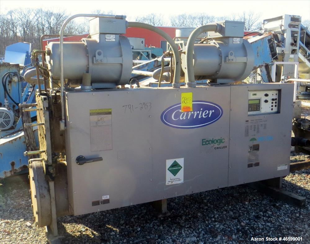 Used- Carrier Water-Cooled Chiller