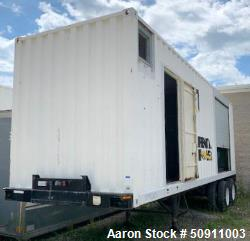 Used- York / Caterpillar Containerized Packaged Mobile Chiller