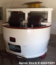 Used- Carle & Montanari Cocoa Mill, Model M16. Working diameter: 80 inch x 75 x 80. Batch capacity: 200 Kg. Method of discha...