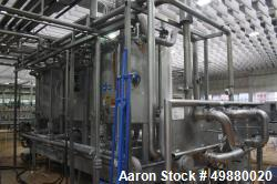 APV/Alfa Laval/SPX CIP plant/system consisting of: (4) Stainless steel tanks, appox. 529 gallon/2000...