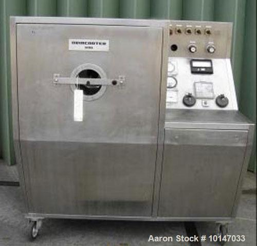 Used- Stainless Steel Driam Driacoater Drum Coater