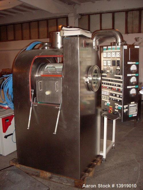 Used- Stainless Steel Glatt GC 400 Coater