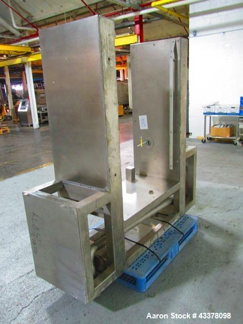 Used- Glatt Coating Pan, Model GCX1500. Stainless steel construciton, 1500 mm diameter perforated pan, spray guns with servo...