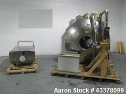 Used- Glatt Coating Pan, Model GCX1500