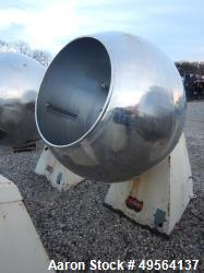 "Used- Stokes 42"" Coating Pan, Model 900-1-8."