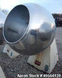 "Used- 42"" Stokes Coating Pan Model 900-1-8"