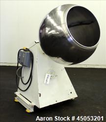 Used- Stainless Steel Stokes Coating Pan