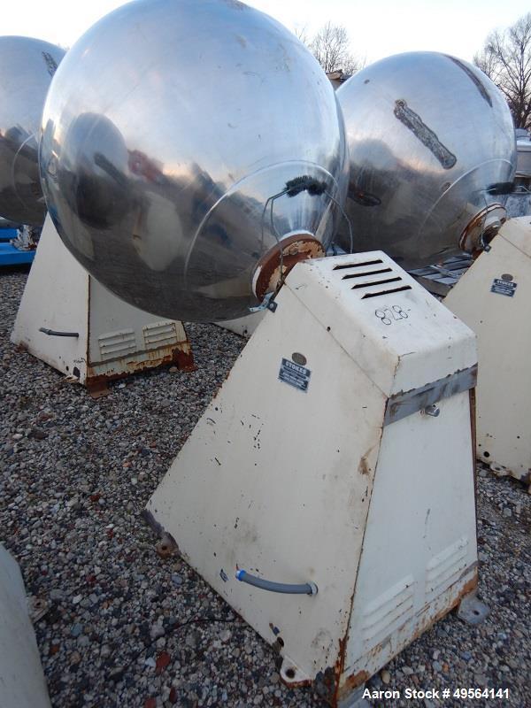 "Used- 42"" Stokes Coating Pan Model 900-1-8"