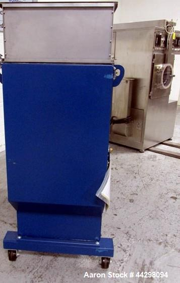 "Used- Thomas Engineering Compu-Lab Coating Pan, Model CL24. Stainless steel construction, 24"" diameter perforated pan with p..."