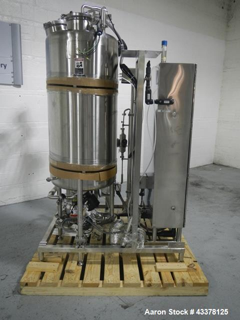 """Used- Thomas Engineering Coating Pan, Type Spectrum Coater. Approximately 66"""" diameter x 60"""" deep perforated pan, stainless ..."""