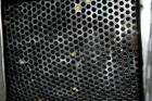 Used-Coating Drum, Stainless Steel. Perforated drum approximate 23