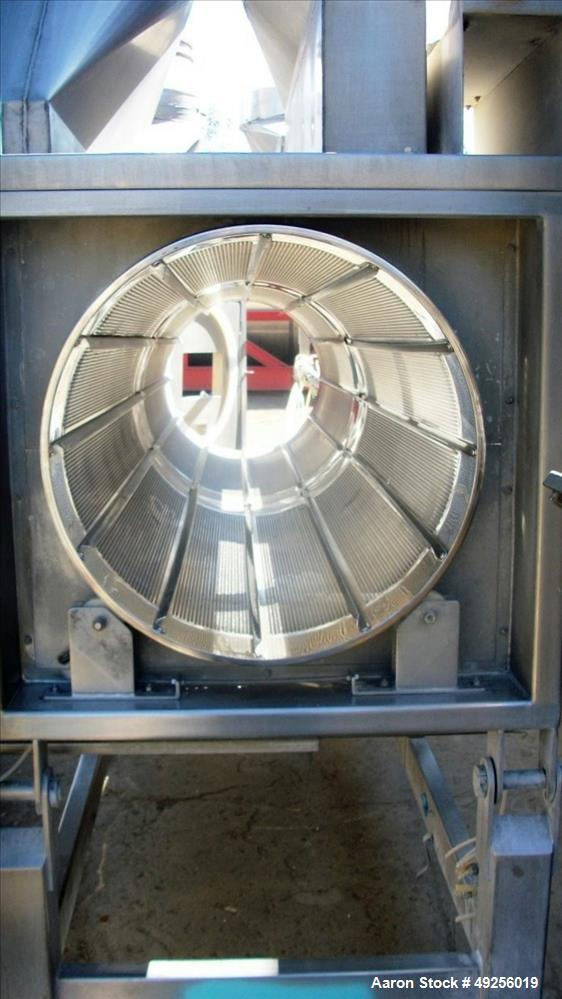 Used- CMS (Coating Machinery Systems) Continuous Drum Coater, Model WH-24-120IN