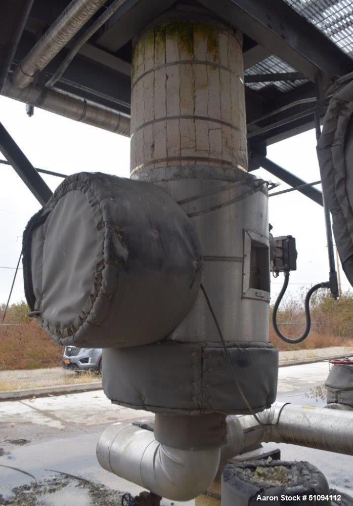 Used- Mitternight Boiler Works Reactor Column System.
