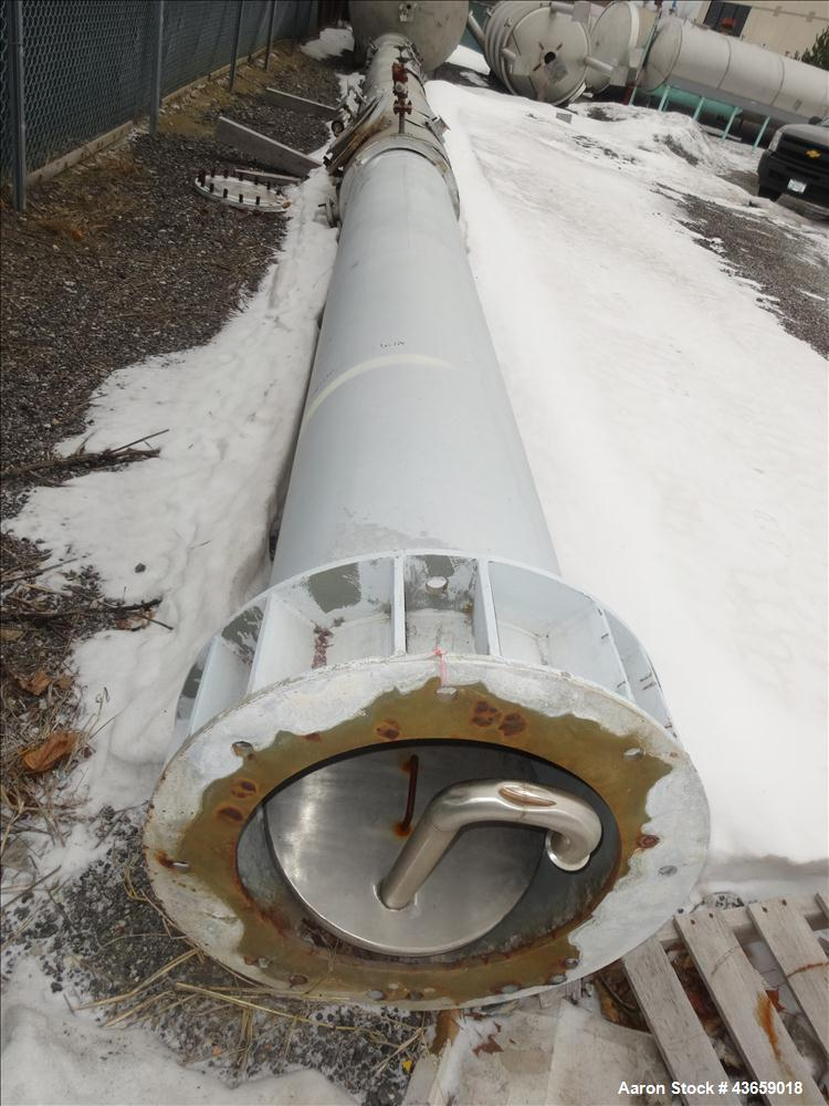 Used- Stainless Steel Arrow Tank & Engineering Sieve Tray Column