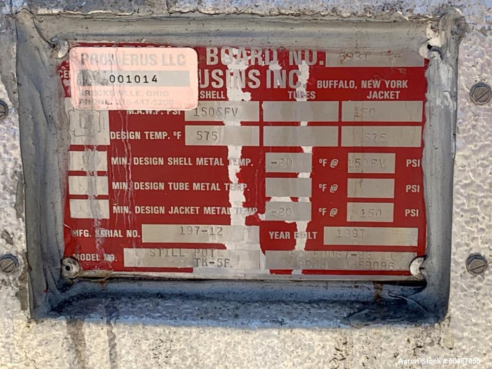Used- 50 Gallon Cousins Distillation Pot Still