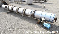 "Thib's Machine & Welding Column, Stainless Steel. (6) Bolt together sections, approximate 16"" diame..."