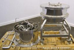 Used- Stainless Steel Pharmacia Biotech BioProcess Column, Model BPSS 600/200