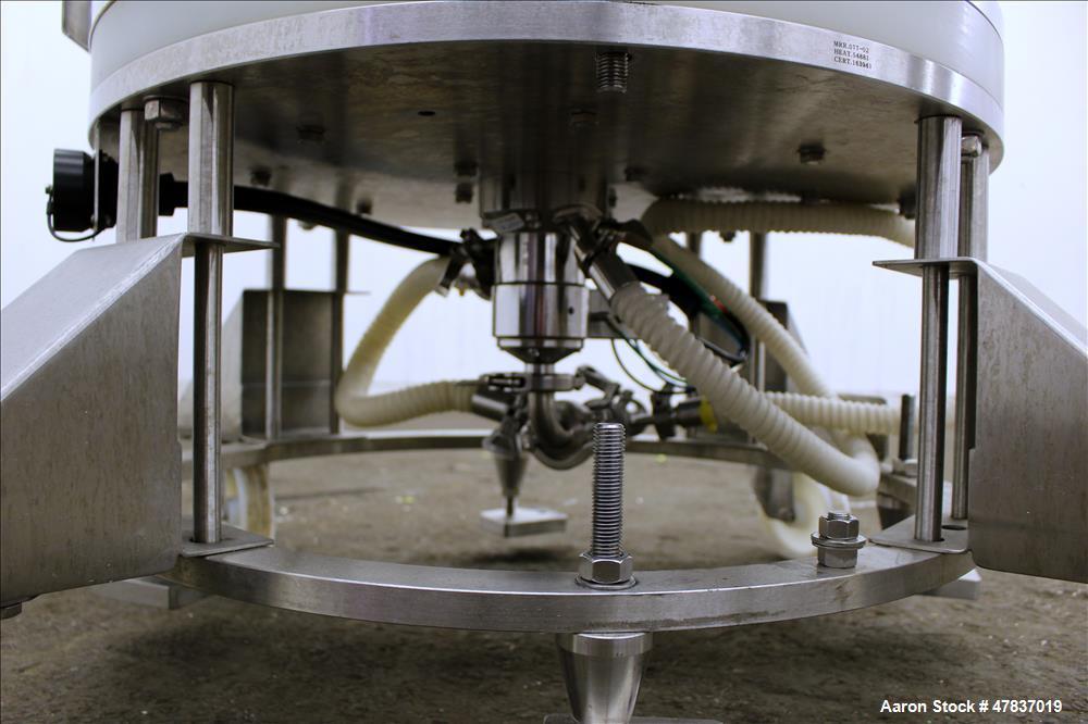 Used- Millipore HA Chromatography Column, Model IPP630X500X450. Approximate adjustable capacity 16-78 liters (4.2-20.6 gallo...