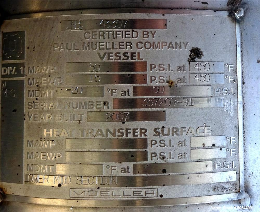 Unused- Mueller Distillation Column