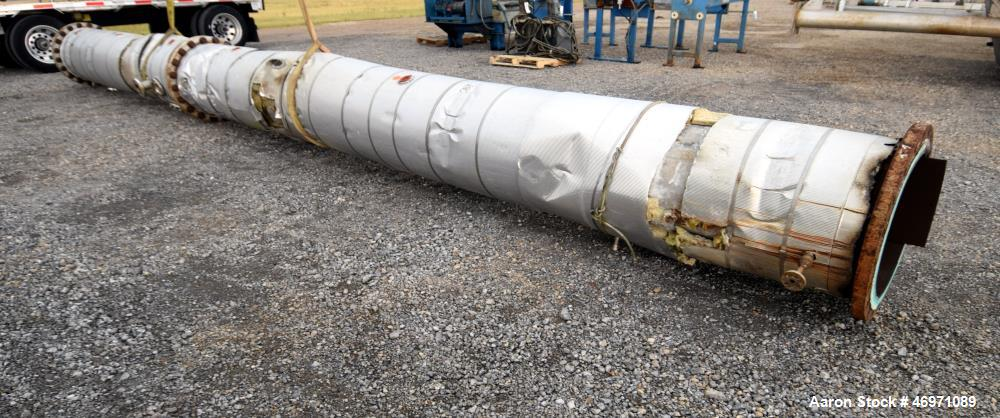 Used- Troy Boiler Works Stripper/Rectifier Column