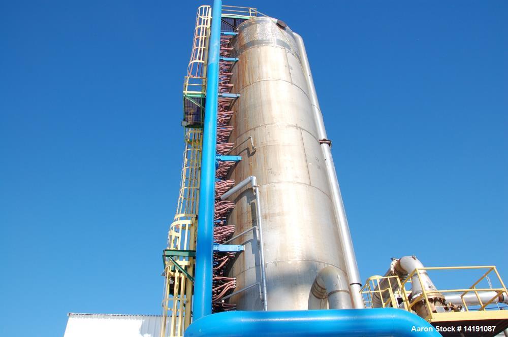 Used- Weatherly High Pressure Nitric Acid Plant, 500 STPD