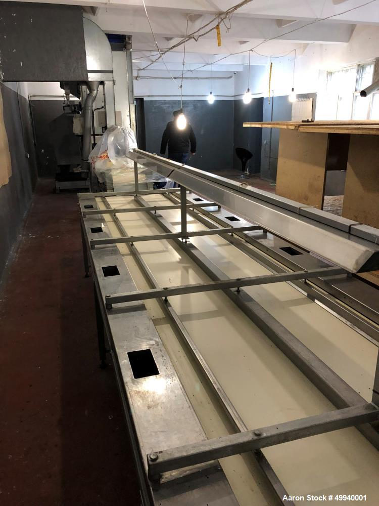 Used- AMB Rousset France Walnut Cracking Factory/Line.