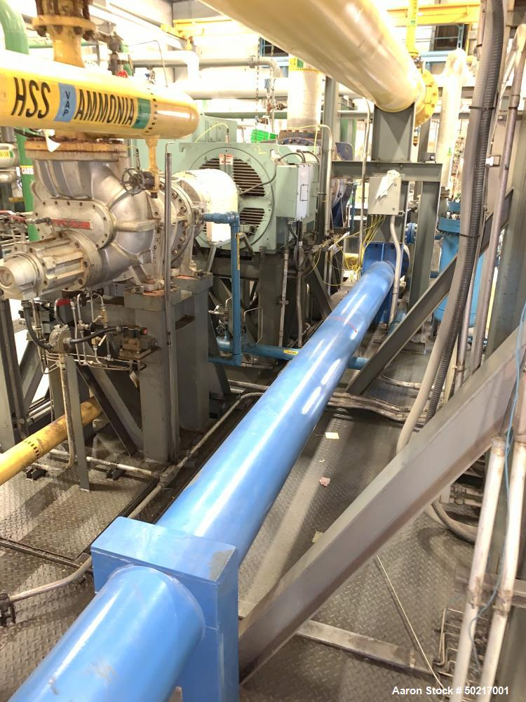 Used- Complete CO2 Plant, Closed Loop Ammonia System.