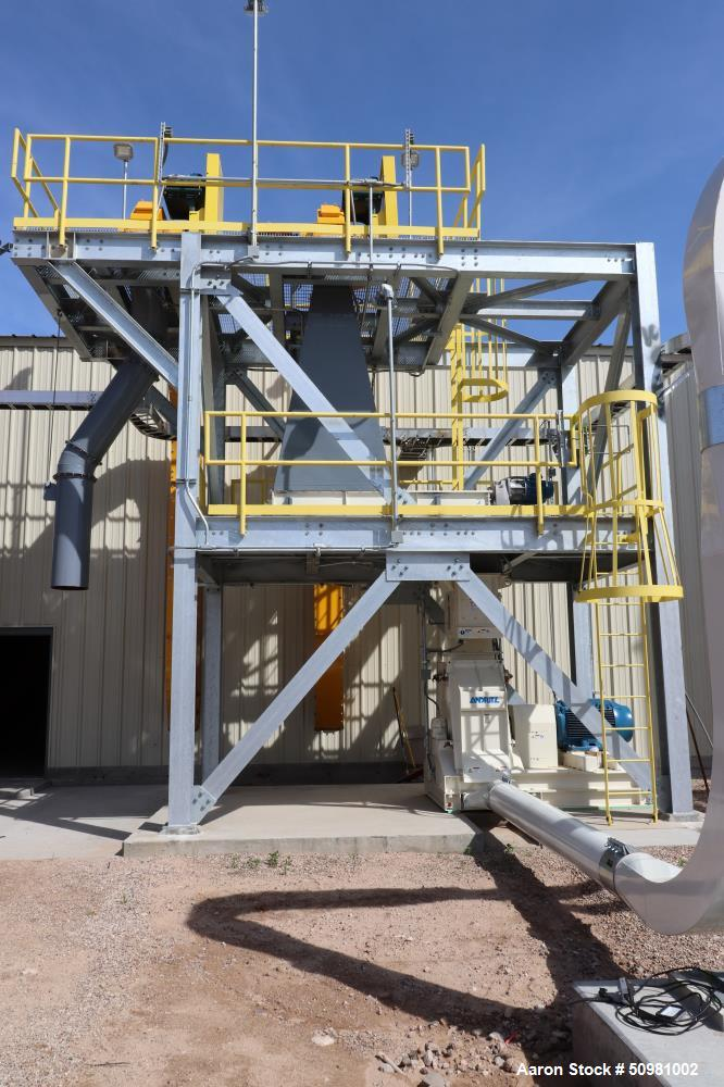 Used-Hemp Drying Facility: designed and built as solid-state radio frequency (RF
