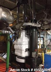 250 Ton Dry Ice Machine. Includes: (2) Baldwin block presses. (2) Jones Superior quarter block saws...
