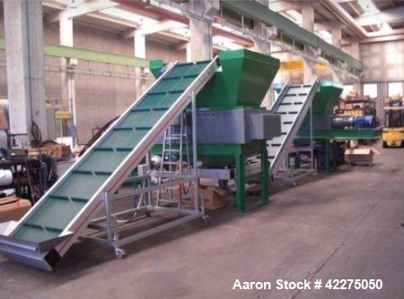Unused- Car Tire Recycling Line