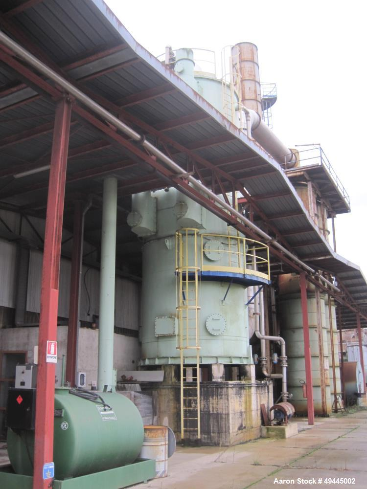 Used- Buzzi-Italy Edible/Olive Oil Extraction Plant