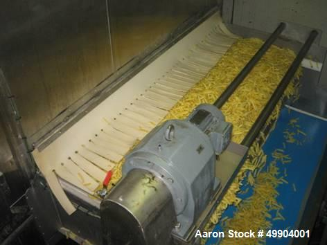 Used- French Fry Line, 20,000 Pound Per Hour Capacity.
