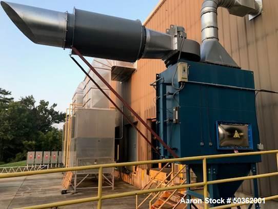 Used- Pneu-Mech Prime Heat Systems Halogen Single Lane Tunnel Type Oven