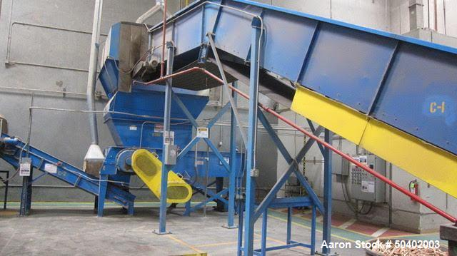 Used- Wood Pallet Shredding/Chipping Line