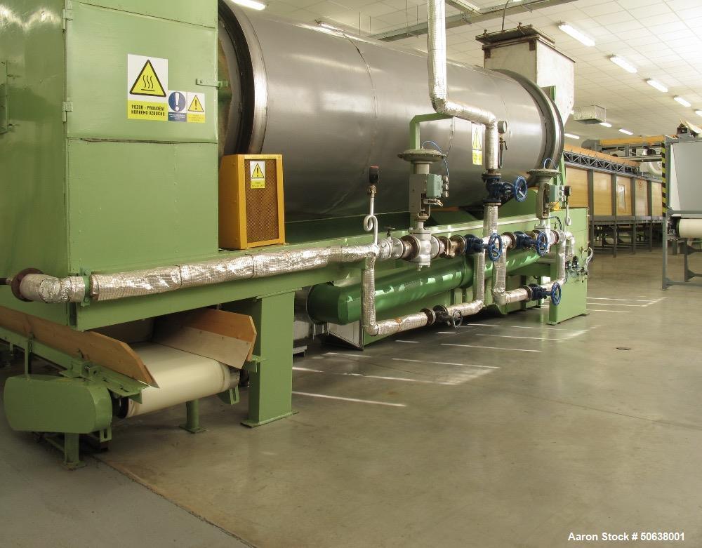 Used- Emkom Tobacco Manufacturing Line/Plant