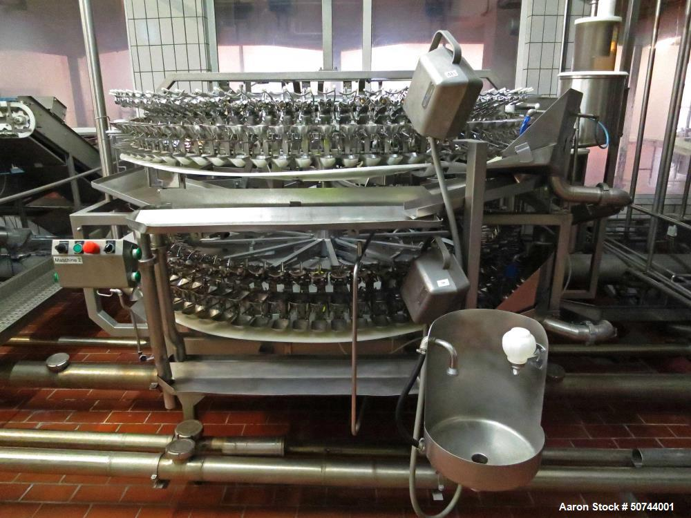 Used- Sanovo Egg-Breaking and Separation Line