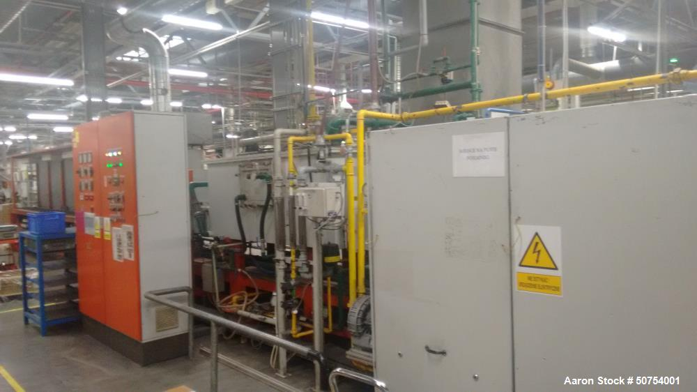 Used- Mahler GmbH Continuous Belt Sintering Furnace