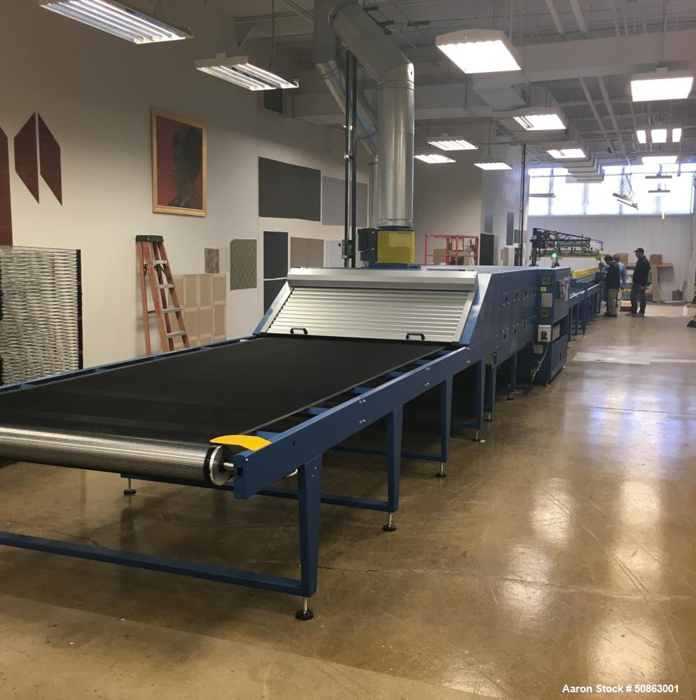 Used- M&R Group Silk Screen Printing Press Line