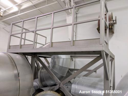 Used-Incus 4,000 lb/hr Quinoa Wash and Drying Process Line