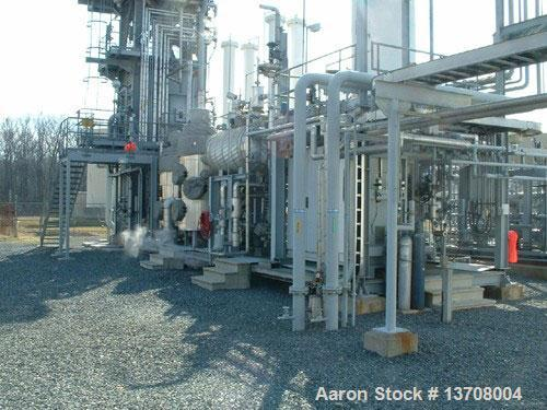 Used- Air Products SMART SMR modular hydrogen plant rated 860Nm3/hour, steam methane reformer. Products: gaseous hydrogen, C...