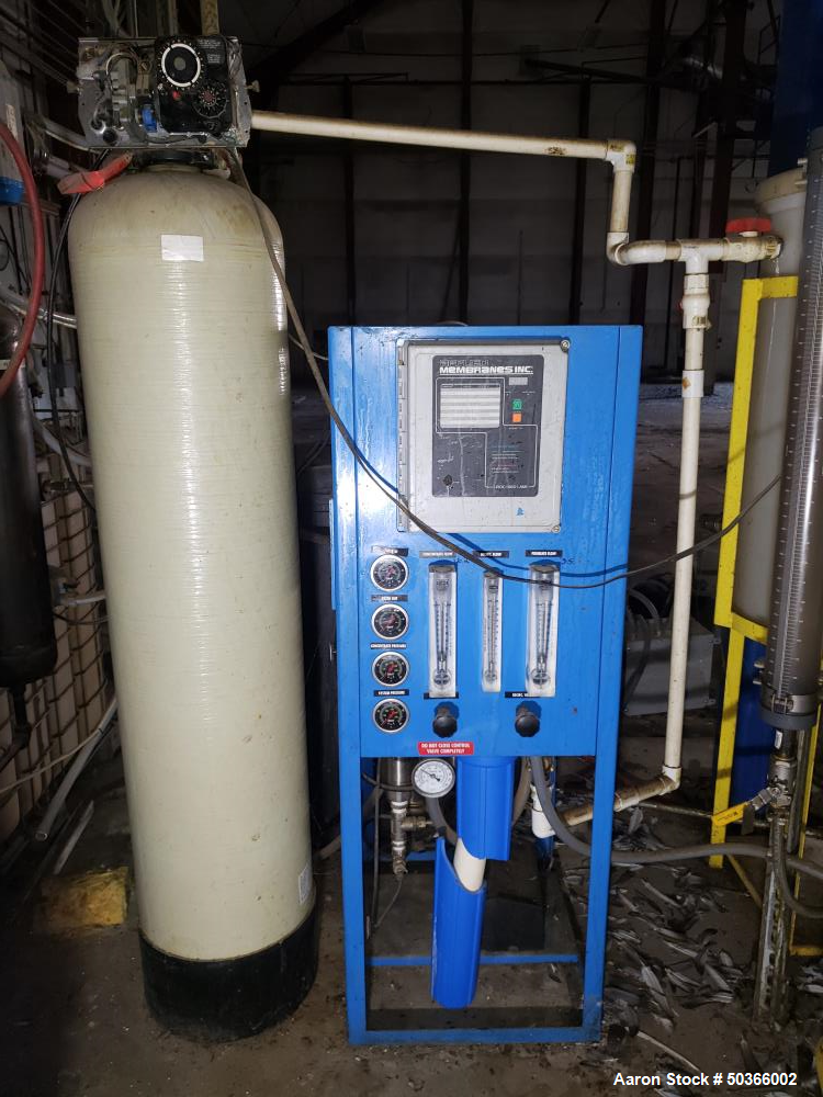 Used- Crown Iron Works Acid Super Degumming / Caustic Neutralization System