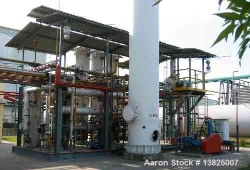 Used-Hydrogen Plant.Howe Baker Hydrogen Generating Plant rated at 270 ncmh or 10,000 scfh. Type SAS III steam methane reform...